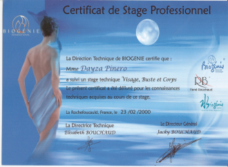 Professional Training Certificate